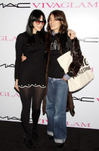 Bella Freud and Susie Bick