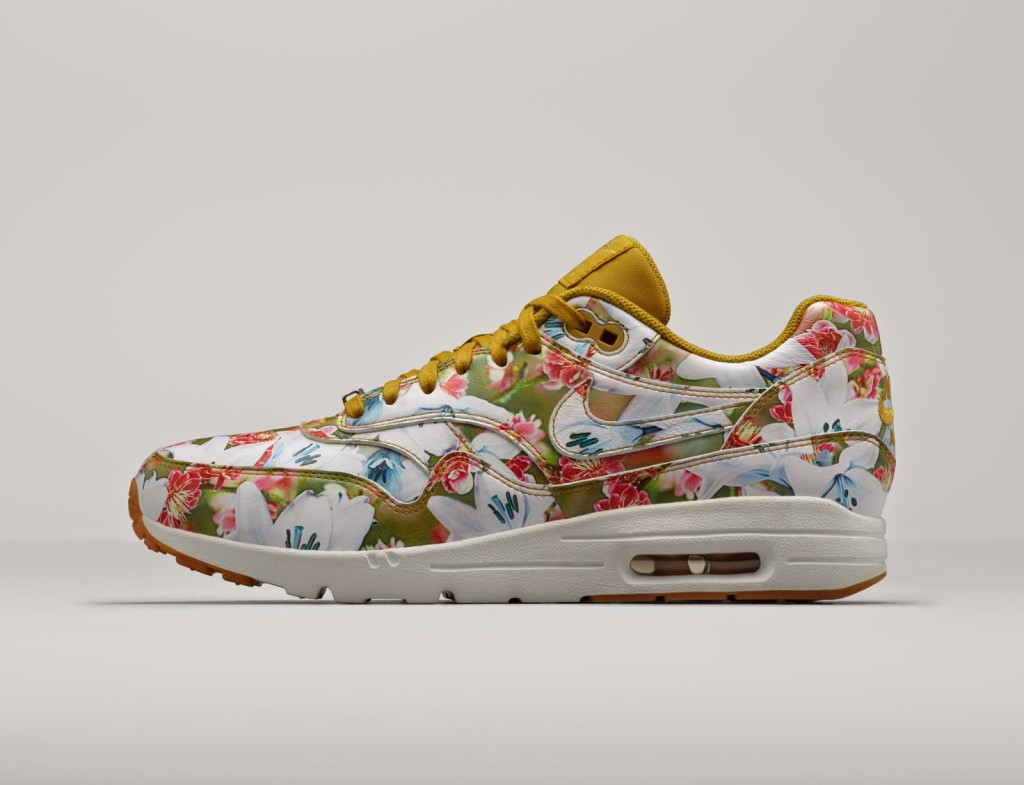 sports shoes 3ce82 db563 Having collaborated with Liberty for a couple of seasons, Nike have now  created their own range of floral print Air Max sneakers.