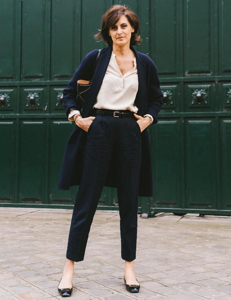 4976c20b25 ... to perennial classics rather than following fashion fads – think Carine  Roitfeld in an Equipment silk shirt