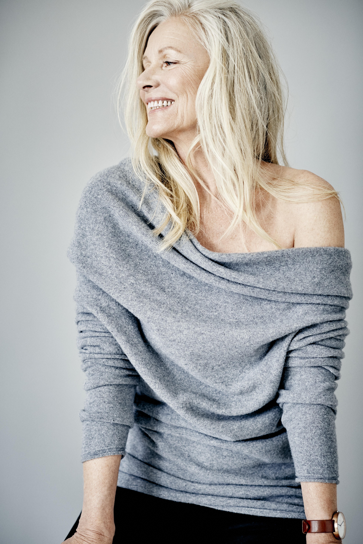 Hopefashion.co.uk AW15 Grey Drape Knit Top £110