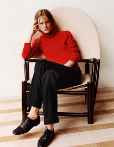 Gentlewoman Style for autumn – the chic way to wear red