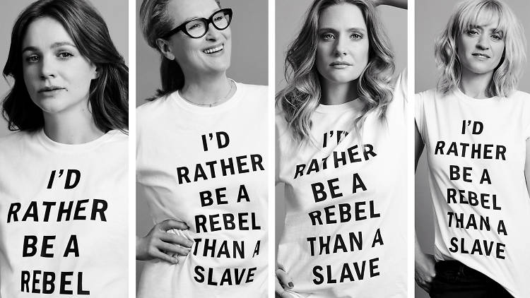 I'd rather be a rebel than a slave