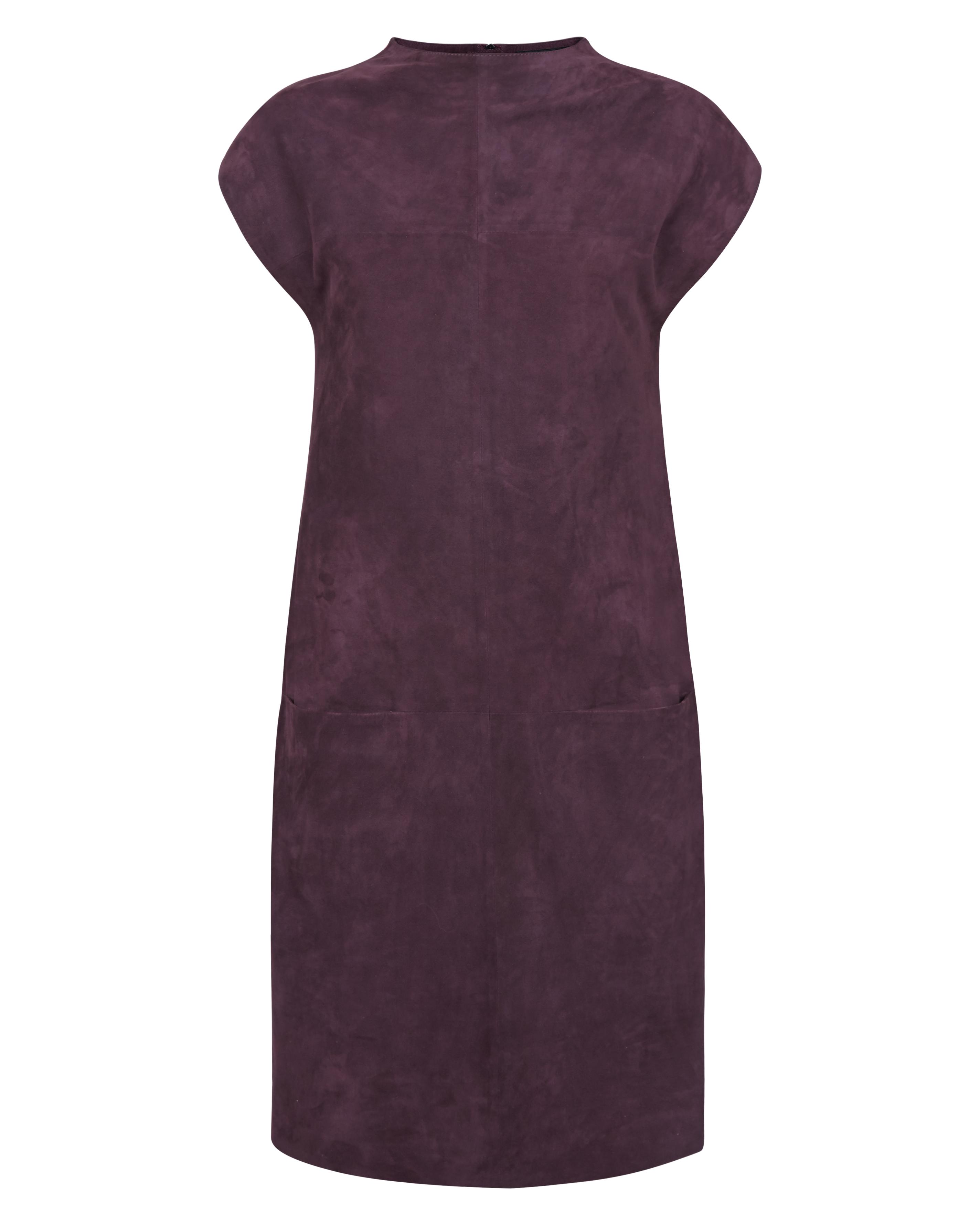 jaeger_suede dress