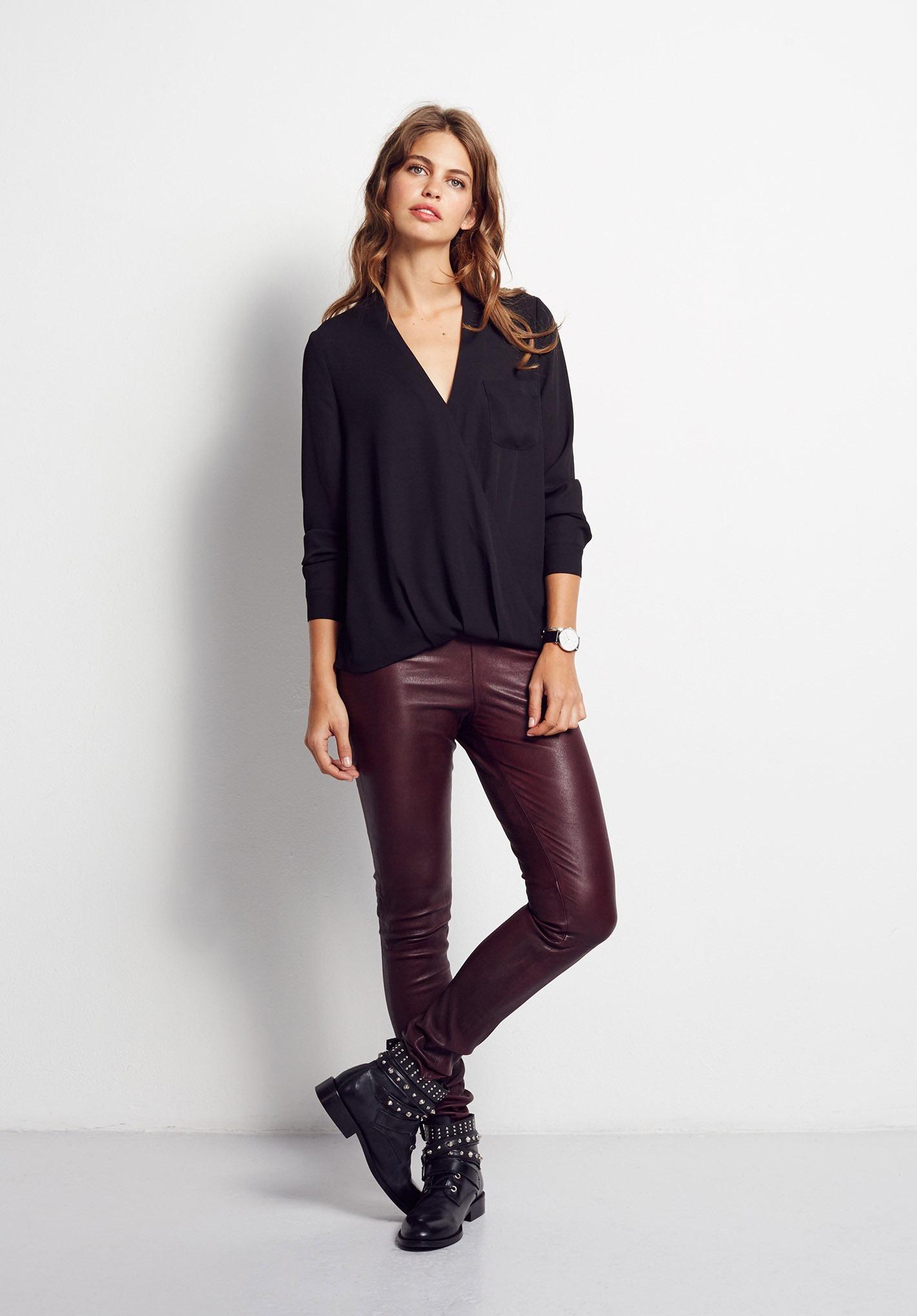 leather leggings-BUR-01
