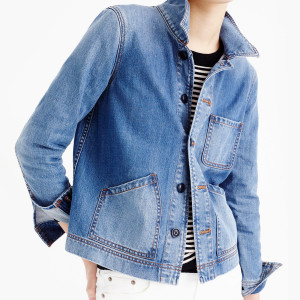 The versatile denim jacket