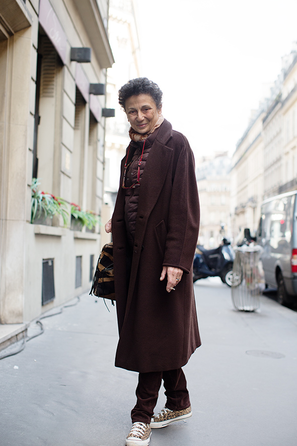 Sartorialist, older model
