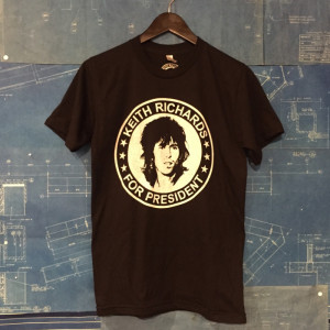 The Keith Richards for President T-shirt