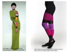 Sixties-inspired sportswear by Peggy Moffitt