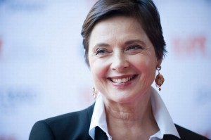 Isabella Rossellini is back chez Lancome