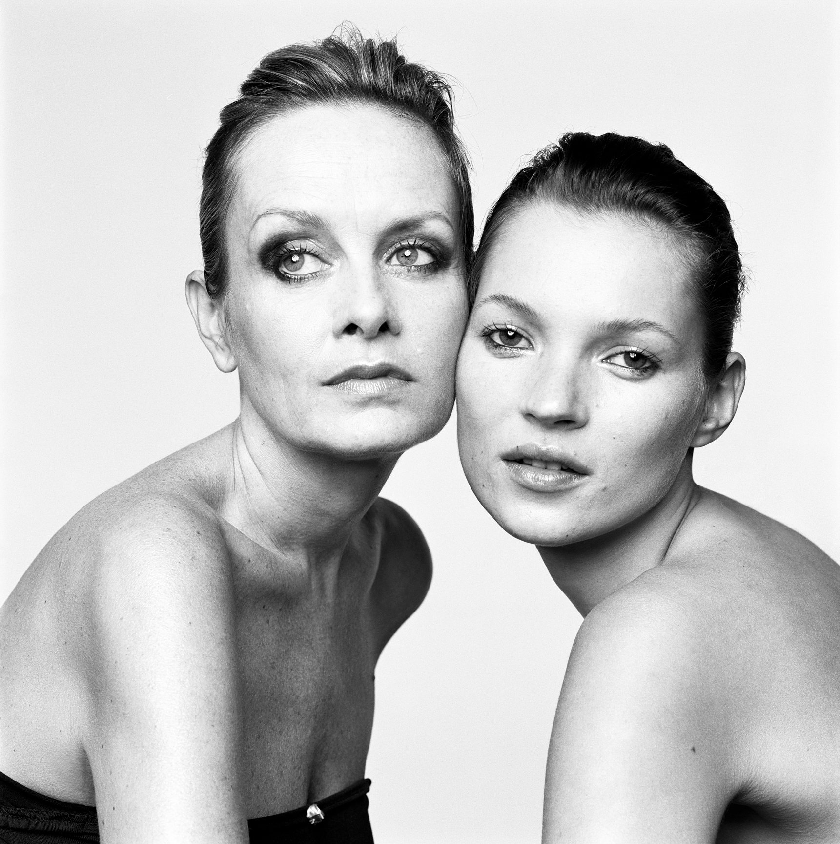 Twiggy and Kate Moss, Lacombe