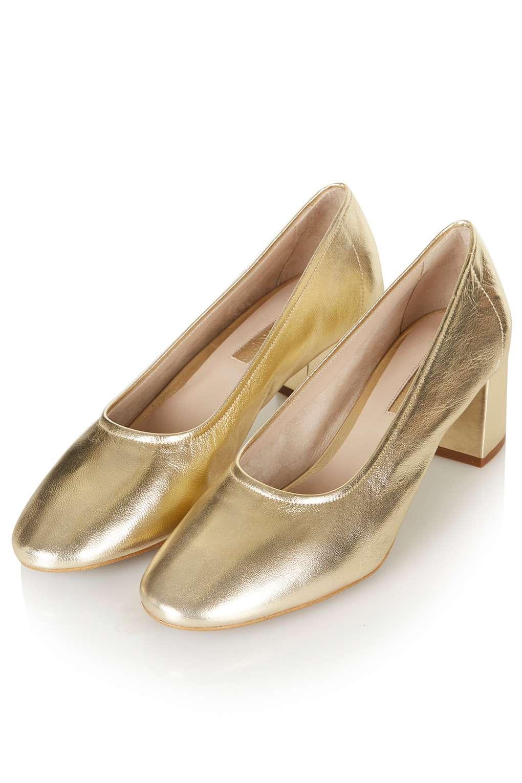 Topshop gold shoe32J17JGLD_Zoom_A_1