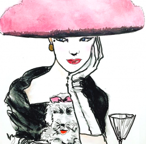 Vogue Goes Pop and the colouring book craze