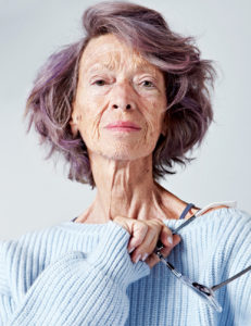 Ageless beauty: 72-year-old Loulou Van Damme
