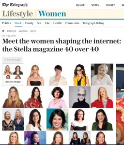 40 over 40: meet the women shaping the internet