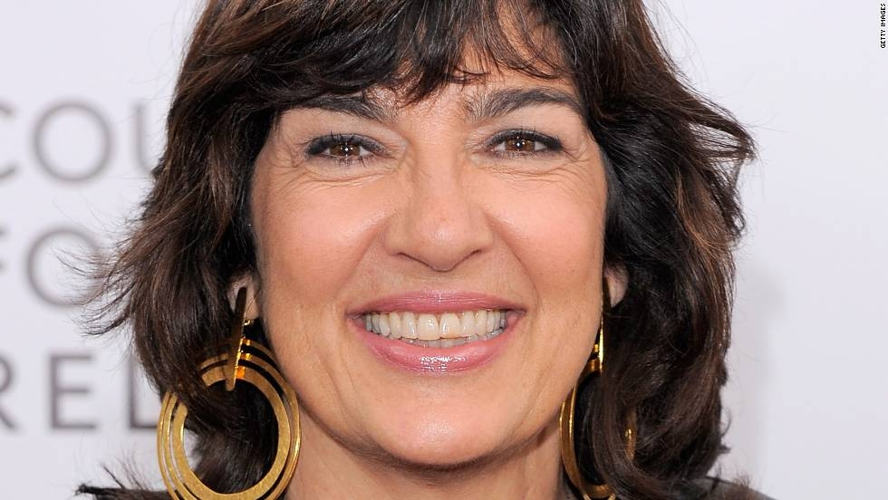 "NEW YORK, NY - DECEMBER 05: Journalist Christiane Amanpour poses for a photo during the premiere of ""In the Land of Blood and Honey"" at the School of Visual Arts on December 5, 2011 in New York City. (Photo by Jemal Countess/Getty Images)"