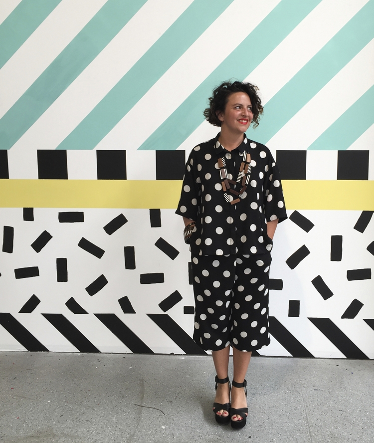 London To Brighton Cycle 2017 >> Camille Walala's colourful exhibition at the Now Gallery — That's Not My Age