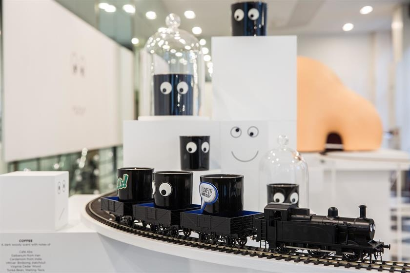 So Imagine Walking Into Anya Hindmarchs Sloane Street Store One Grimy Morning Last Week To Find It Transformed A Big Bright Model Train Set