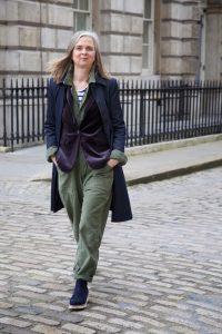 Vogue street style: two older women make surprise London Fashion Week appearance