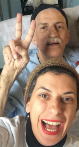 Caring for an elderly parent and finding joy in the meantime