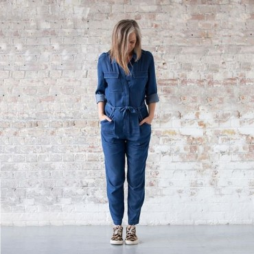 Practising the one in, one out rule: new chambray jumpsuit