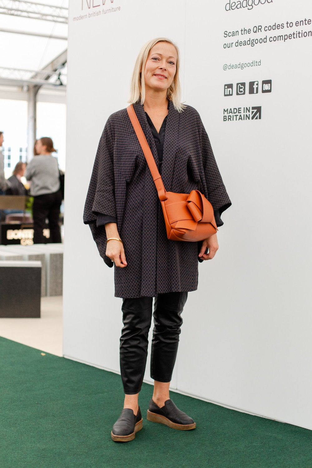 What Women Wear at London Design Festival: the accessories edit