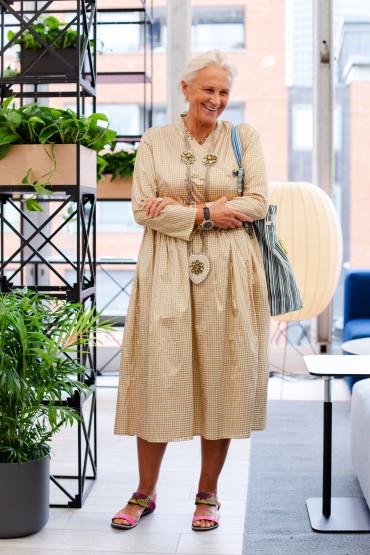 What Women Wear at London Design Festival