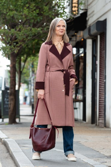 More autumn coats: it's a wrap