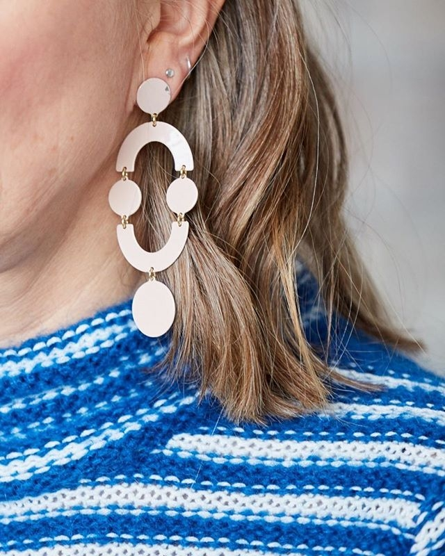 January is the perfect time for statement earrings