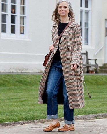 Know Your Seasonal Style: the outstanding, checked trench coat