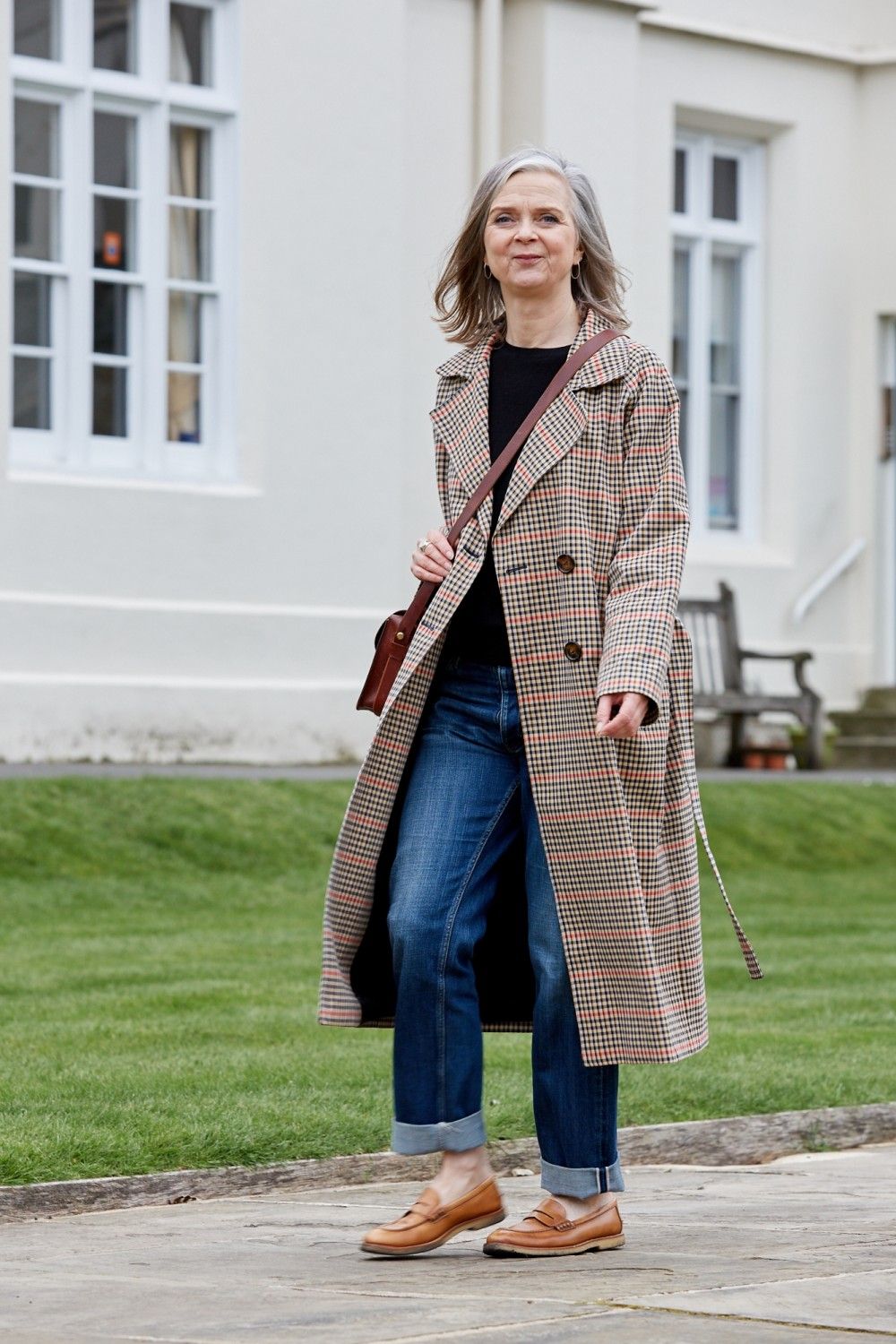 Know Your Seasonal Style: the checked trench coat