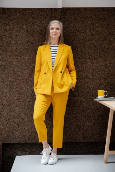 Trending: spring's technicolour trouser suits
