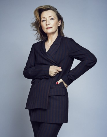 Lesley Manville is getting on with it