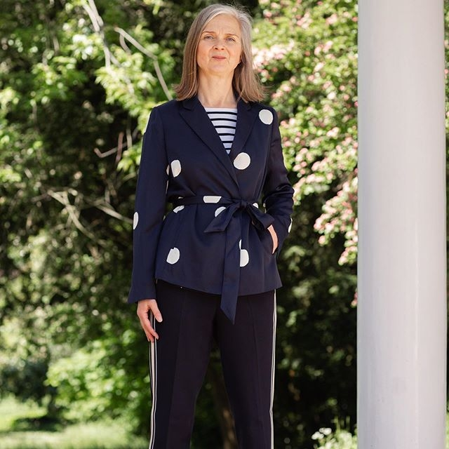 Spots and stripes and special occasion dressing without the faff-factor