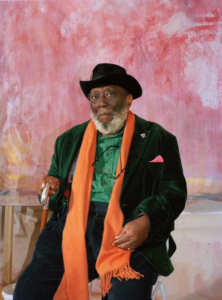 The brilliant Frank Bowling exhibition at Tate Britain