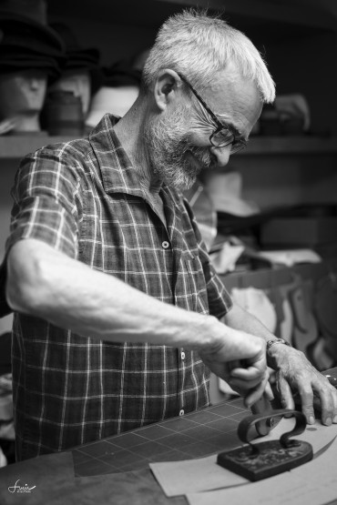 Meeting Andrew Wilkie – the man who makes hats for Margaret Howell
