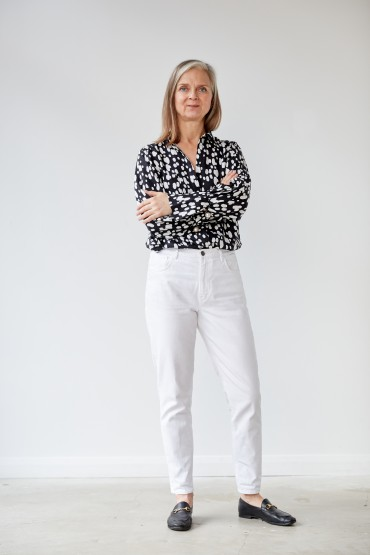 Sustainable Style: two ways to wear a statement blouse, all year round