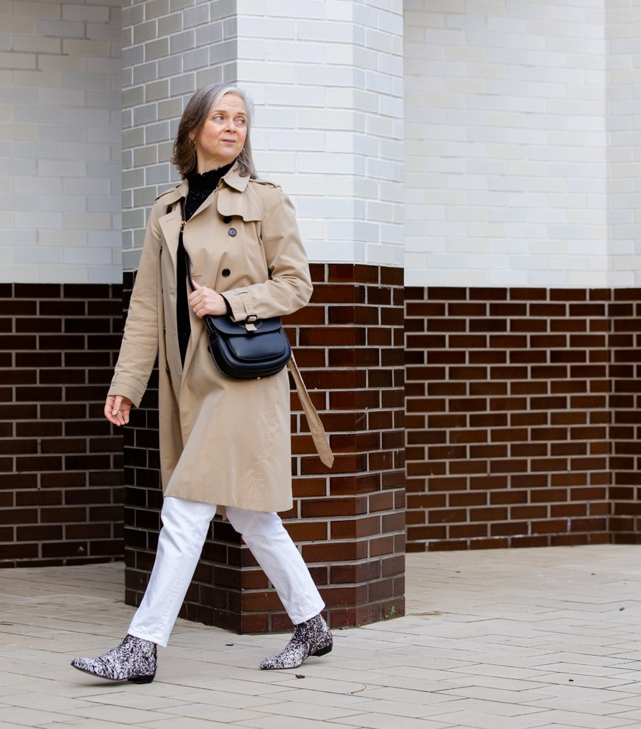 Snazzy boots, a new style column and the business of blogging